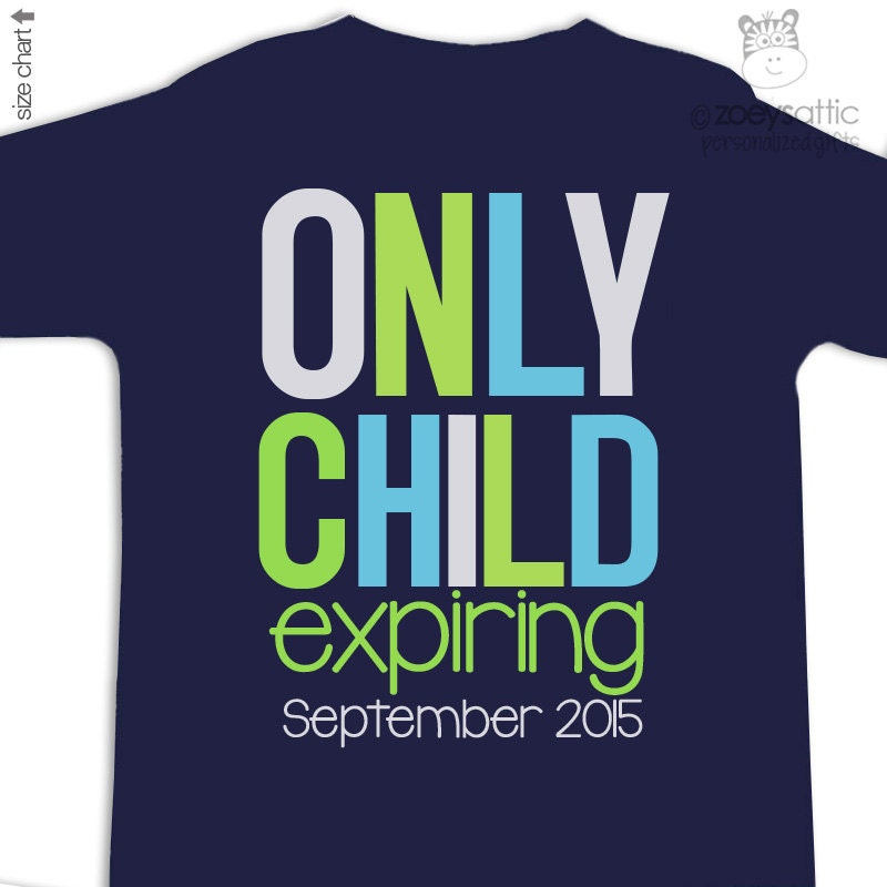 big brother only child expiring shirt or big brother to be