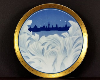 Vintage B&G Plate - Centennial Collection, 1995, Behind the Frozen Window