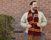 FINAL CLEARANCE Gryffindor House Scarf - Second Edition