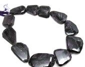 AAA Sugilite Gemstone Beads, 17mm x 22mm, Natural African Sugilite, Faceted Nuggets, Loveofjewelry, SKU 4390