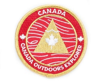 Canada Outdoors Explorer's Patch - Made in USA