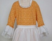 Girls  Historical Costume Pioneer Dress Colonial Dress Size 12/14 - Ready to Ship