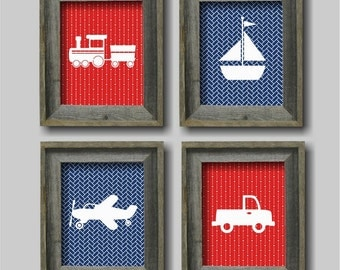 Transportation Nursery Wall Art