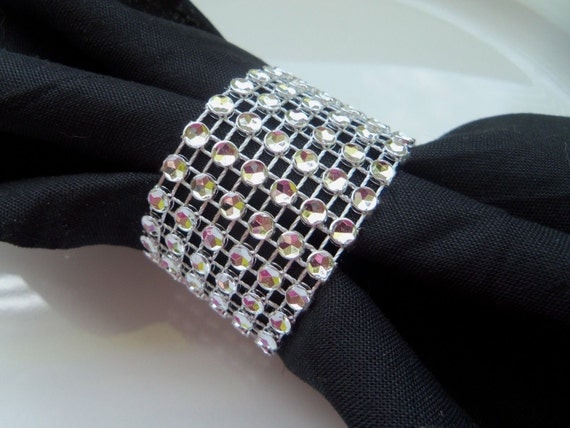 Wedding Reception Napkin Rings 25 Silver By TheBeachChick On Etsy