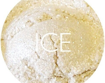 Ice Mineral Eye Shadow • Vegan Mineral Makeup • Earth Mineral Cosmetics
