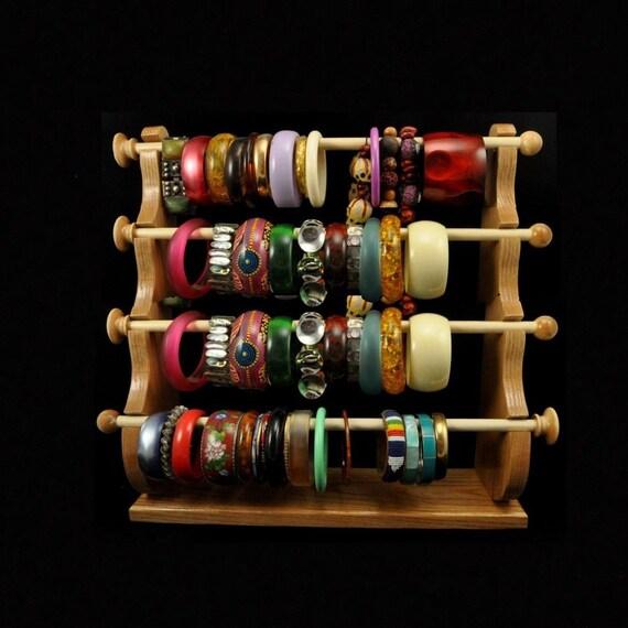 Standing bracelet holder organizer storage by spiritranchcreations - 4 Wand Standing Bracelet Holder Bracelet Storage Bracelet