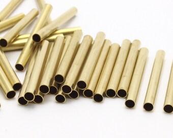 50 Raw Brass Tubes (3x30mm) Bs 1443
