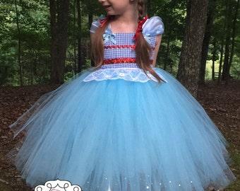 Dorothy Tutu Dress - Dorothy Costume - Dorothy Dress