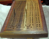 Enter the etys.com coupon LEAPYEAR2016 at etsy checkout for a 29% discount!  Artisan Cribbage Board - Strange