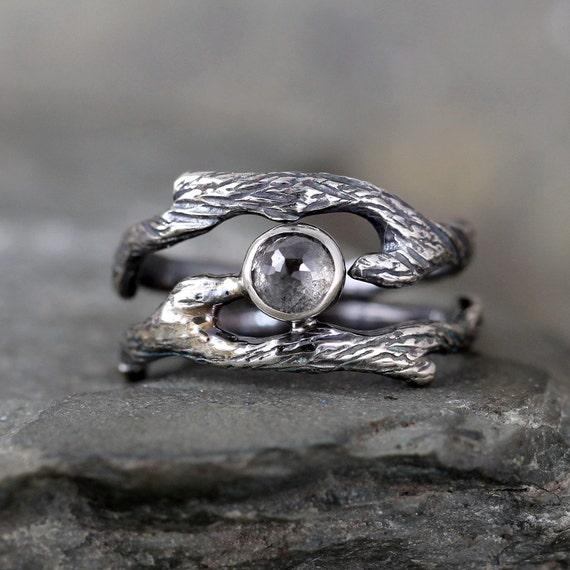 branch wedding rings - photo #16