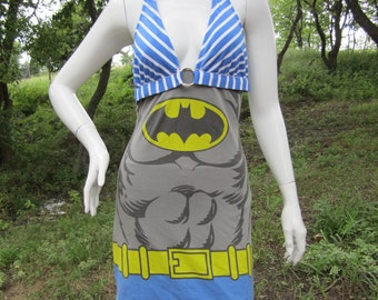 Batman t shirt bikini dress