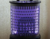 Color changing LED light made from vintage heater  - Free shipping within U.S.