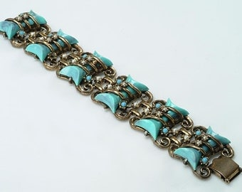 Scarab bracelet watch band