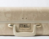 Beige Samsonite Suitcase Luggage
