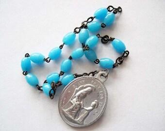 Vintage  Saint Ann Chaplet Hand Rosary