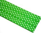 Pattern Magnet - Chart Keeper Magnetic Bookmark - Knitting Crochet Supplies Tools - Set of 3 - Polka Dots (kelly green)