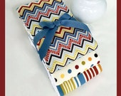 Baby Boy Shower Gift, Unique Baby Gift, Burp cloth 3 pack in blue, brown & cream coordinates is great for new boys.