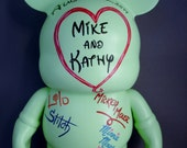 "Custom Order Wedding 9"" Vinylmation Guest Book"