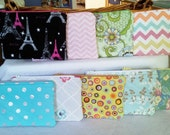 Small Wallets, Zipper Pouch, Cosmetic Carrier, Cell phone Carrier, Credit Card Carrier, Stocking Stuffers, Gift Card Holder