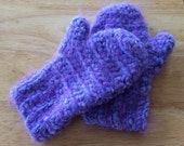 SALE-HALF OFF! Toddler 2-4T Crochet Handmade Mittens in Pink, Peach, Blue, Purple, or Green