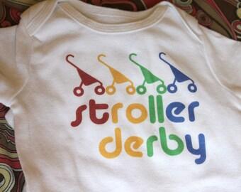Stroller Derby Baby Bodysuit (sizes newborn to 24 months)