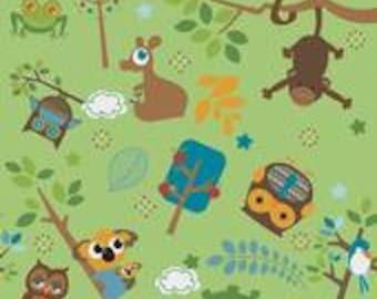 1 HALF YARD Yard, Hooty Hoot, Owls and Friends, Doohikey designs