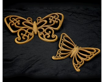 Vintage 70s Butterfly Wall Decor for your Home