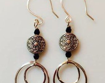 Dangily Hoops Earrings