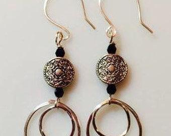 Dangily Hoops Earrings
