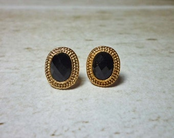 SALE - Mini Oval Stud Earrings
