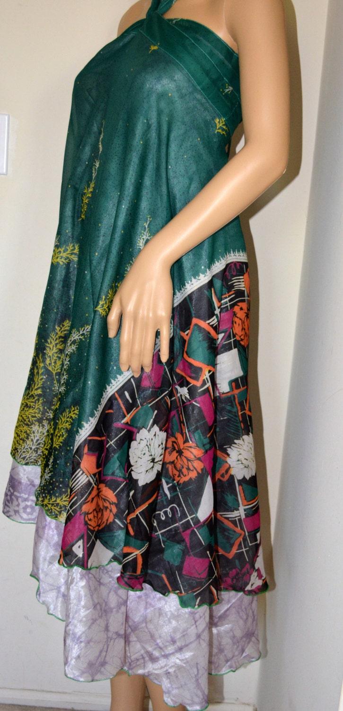 Silk Sari Wrap Skirt Wrap Skirt Many Ways To By