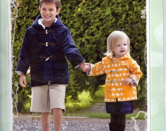 Sale!  The Little Duffle Coat pattern (L018) - Favorite Things