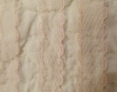 Vintage Lace Soft Pink 6 yards x 1/2""
