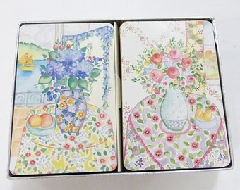 Piantnik playing cards dena's cottage in box made in austria