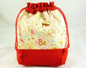 Adorable Mix Print - Drawstring Pouch