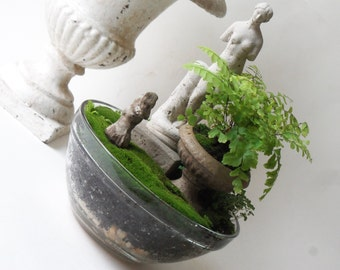 mini classical statue planter - special order - LOCAL pick up only