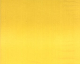 Simply Colorful by V and Co for Moda Yellow ombre solid half yard