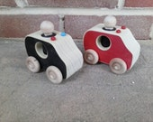 Wooden Toy Emergency Vehicles - waldorf inspired toys