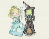 WICKED The Musical Art Prints x 2