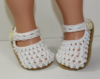 Instant Digital File pdf download knitting pattern Toddler Simple Lacey Sandals knitting pattern
