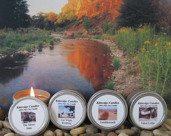 NEVADA SAMPLER (four 2-oz soy candles)