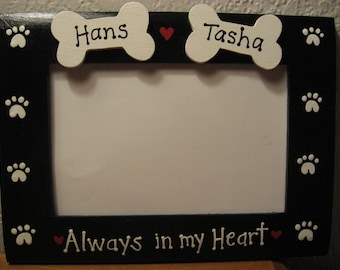 personalized dog memory frame photo picture frame