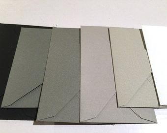 """A7 Envelopes  5 1/4"""" x 7 1/4"""" (133mm x 184mm)  25/Pk- Gray Envelopes"""
