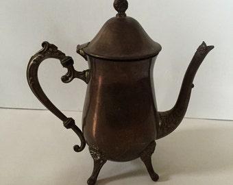 Vintage Silverplate Tea Pot