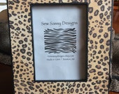 Classic Cheetah Animal Print Wooden Picture Frame