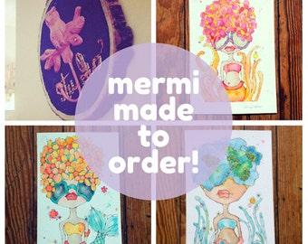 mermaid - CUSTOM - made to order