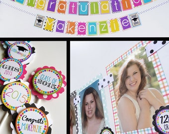 Graduation Party Decorations Package Fully Assembled