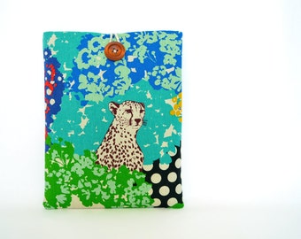 Tablet and eReader Custom Sizes Gadget Accessory Sleeve - Cheetah