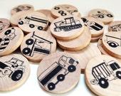 Make a Match - Toddler - Trucks