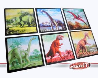 Dinosaur Wall Art - 6 piece set - Youre It Kids